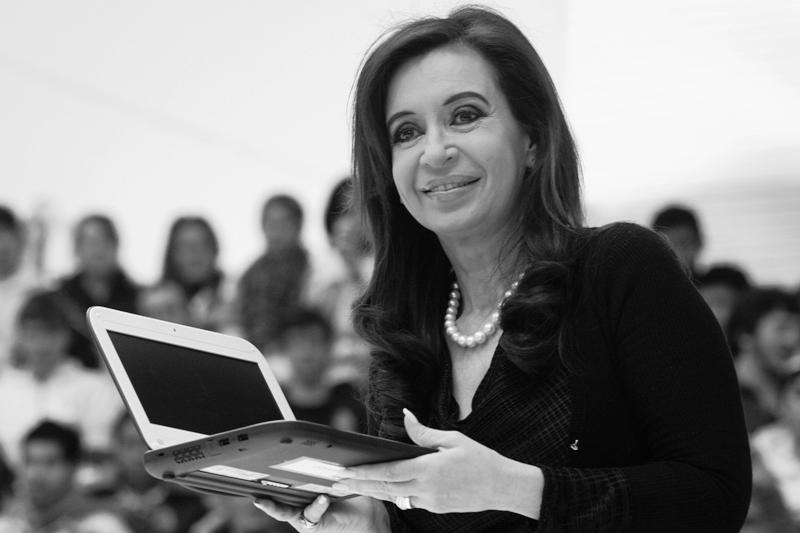 Ella, la presidenta de todos los argentinos