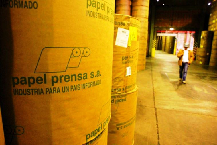 Arecia rechaza la modificación de la ley que regulaba el precio del papel de diarios