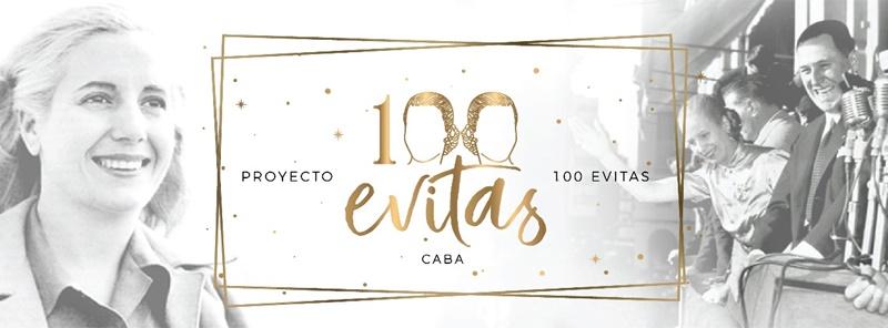 100 Evitas, 100 mujeres, 100 años